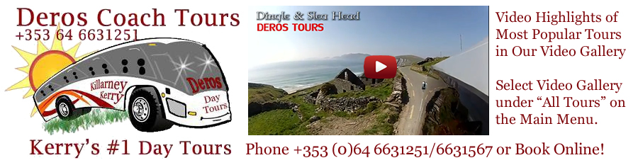 Deros Coach Wild Atlantic Way Tours